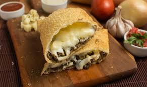 Minced beef and mozzarella   Carne moída e queijo mussarela